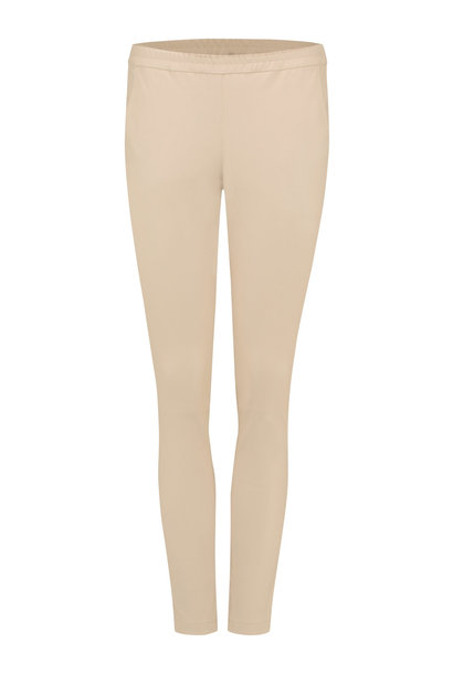 Babba Leather Pants - Sand