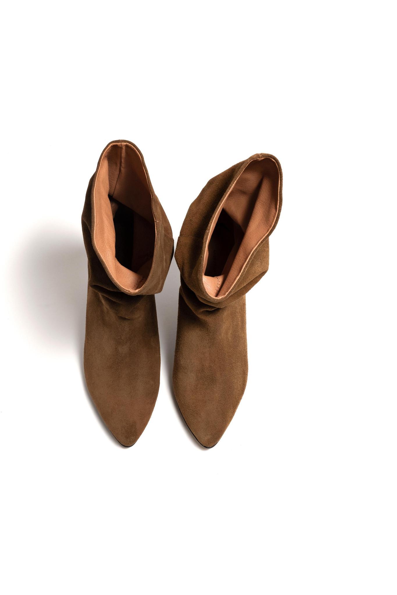 Vully 50 Triangle Calf Suede Boot - Cinnamon-4
