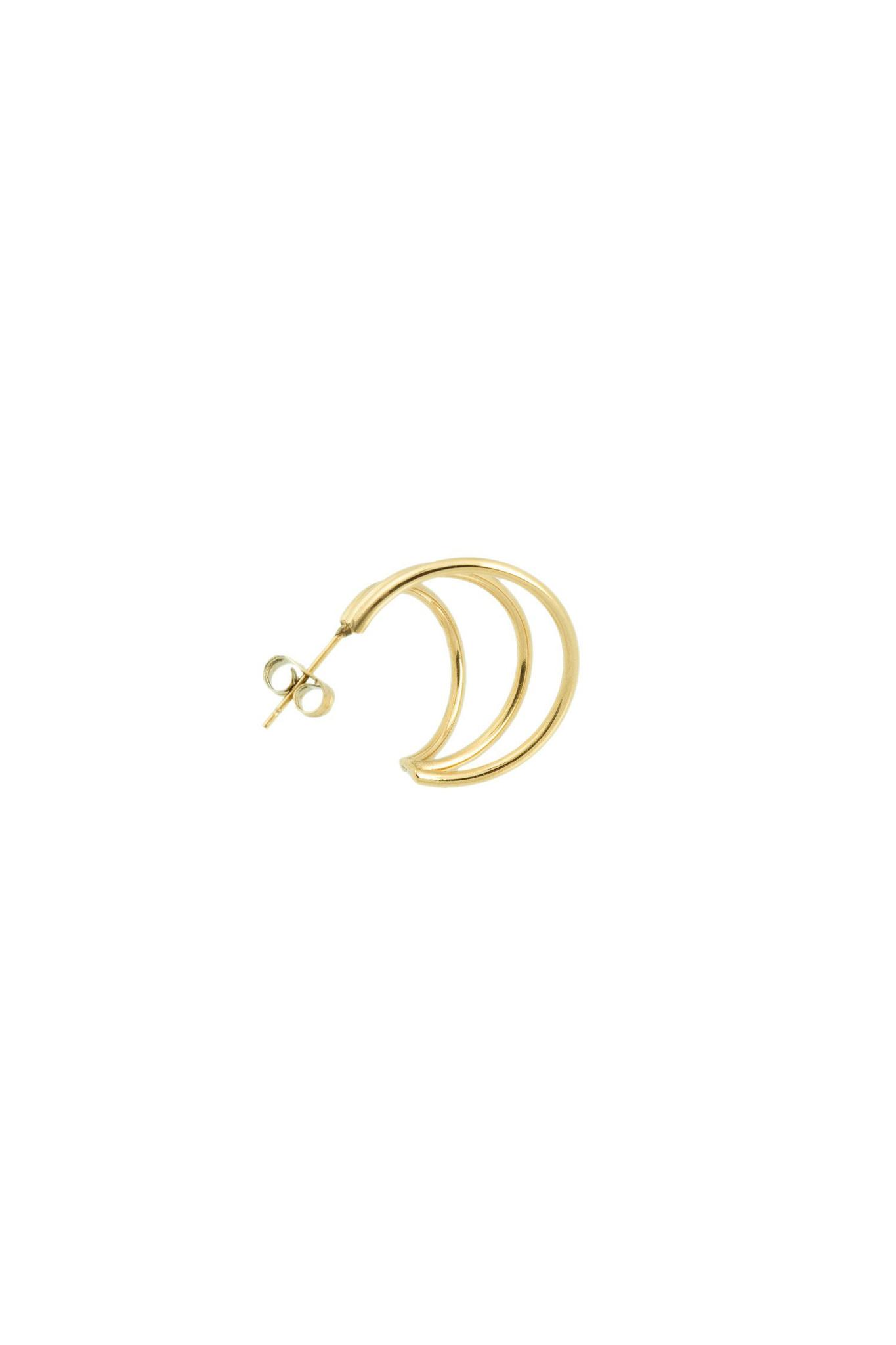 Wire Earrings - Gold-4
