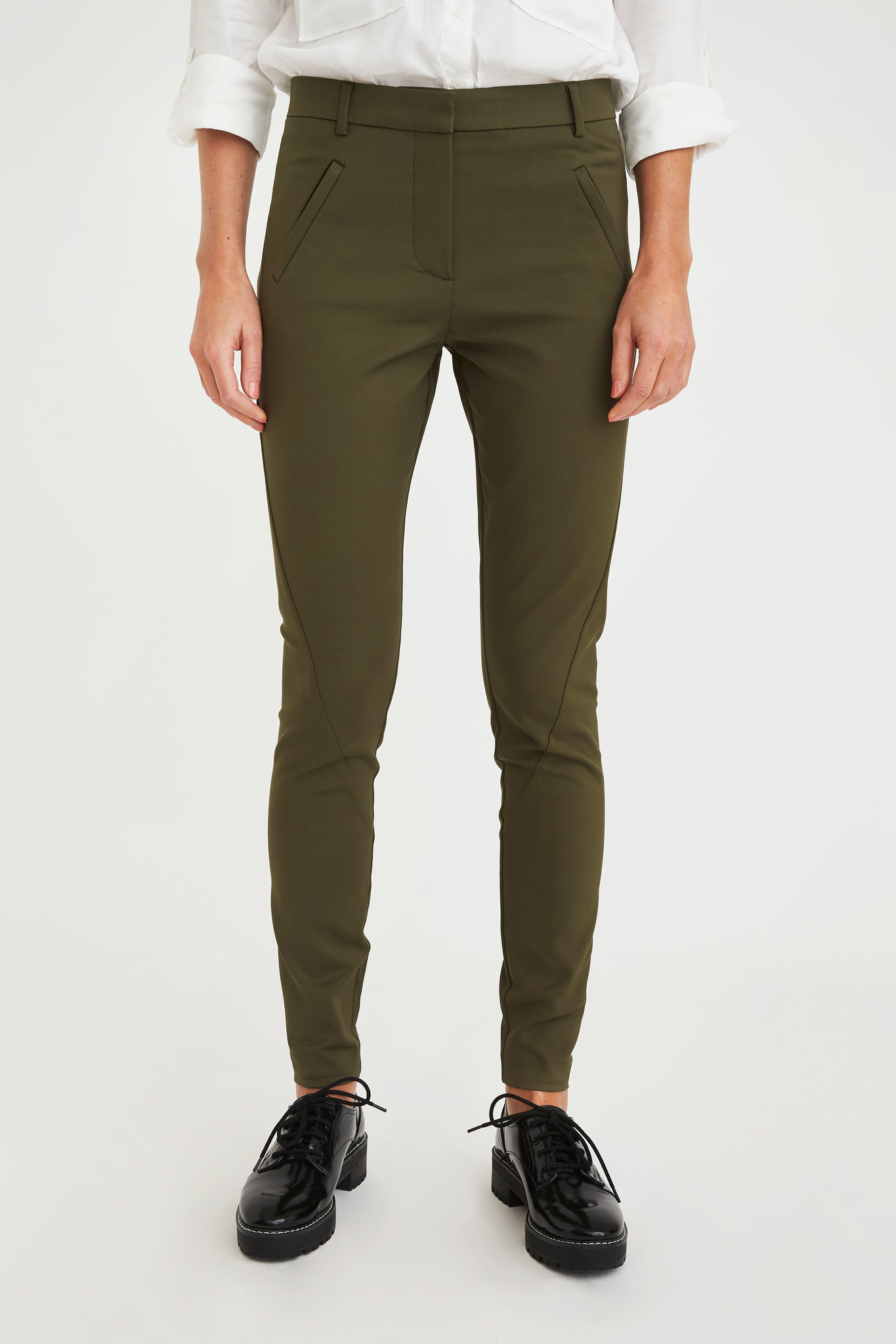 Angelie Pants - Army Jeggin-2