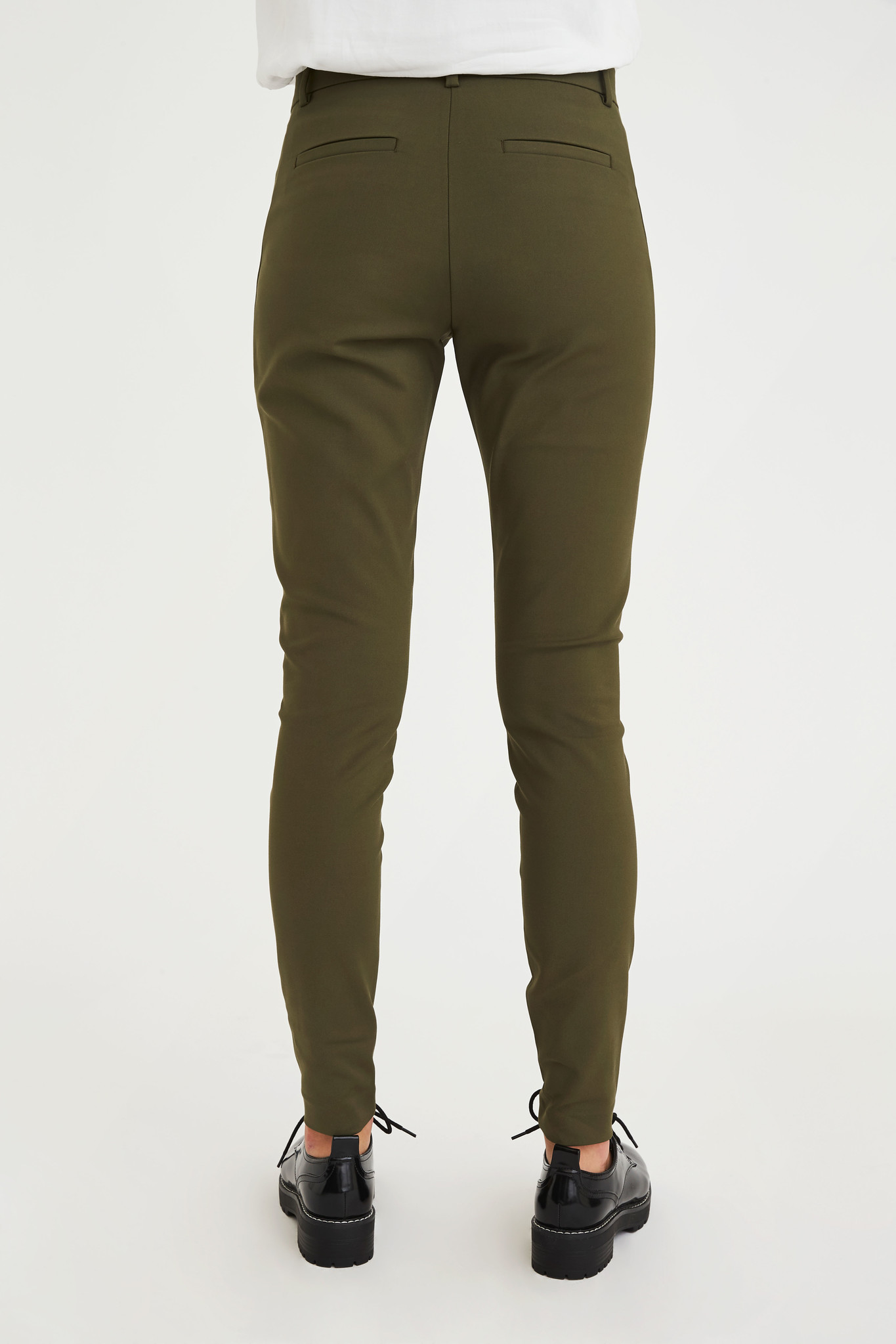 Angelie Pants - Army Jeggin-3