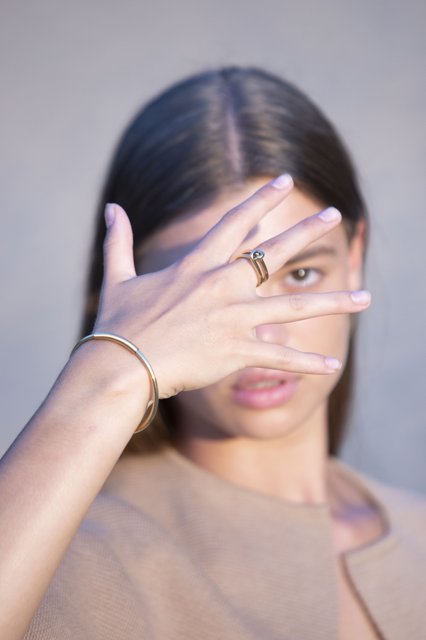 Wire Ring - Gold-2