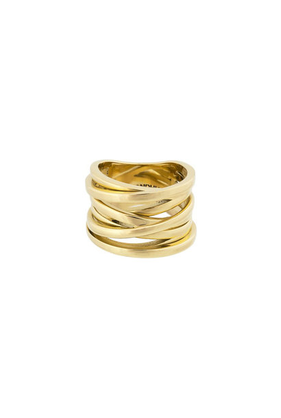 Coil Ring - Goud