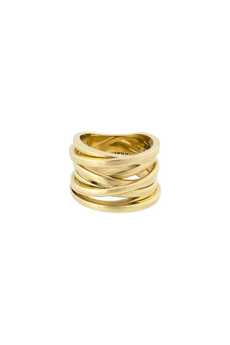 Coil Ring - Gold-1