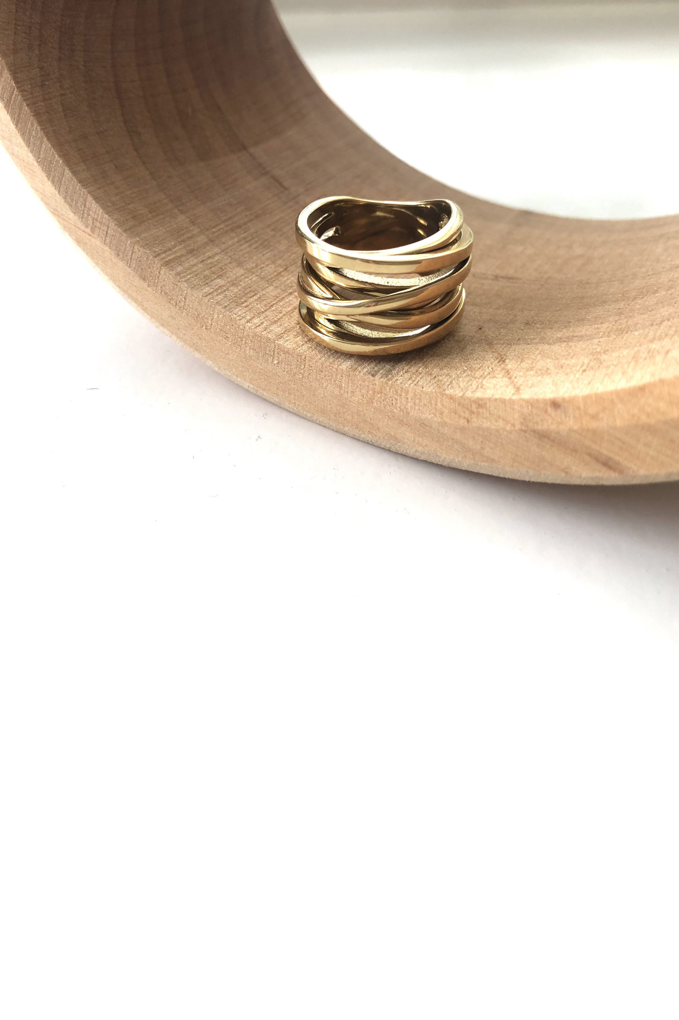 Coil Ring - Gold-3