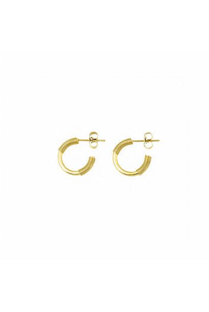 Spiral Earrings - Gold