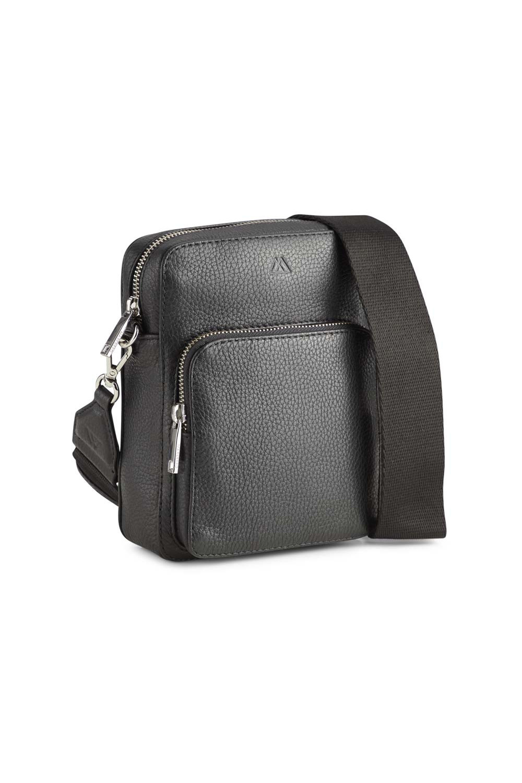 Bexley Crossbody Bag Grain - Black w/ Black-4