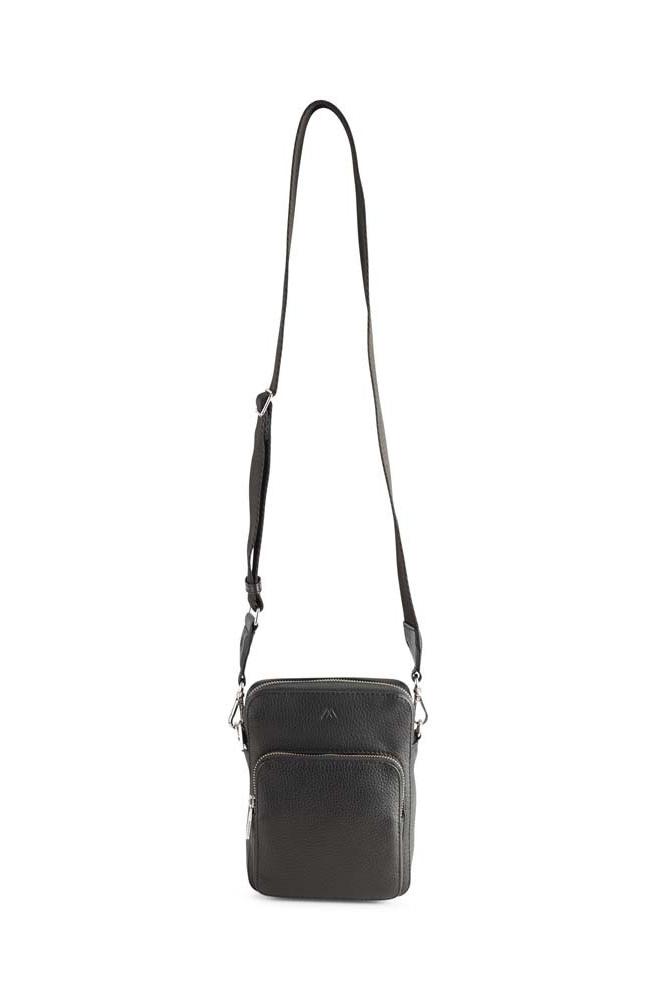 Bexley Crossbody Bag Grain - Black w/ Black-7