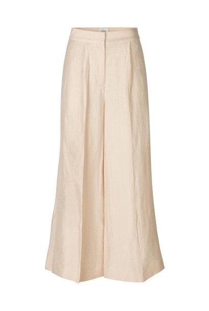 Lia Trouser - Cream Tan