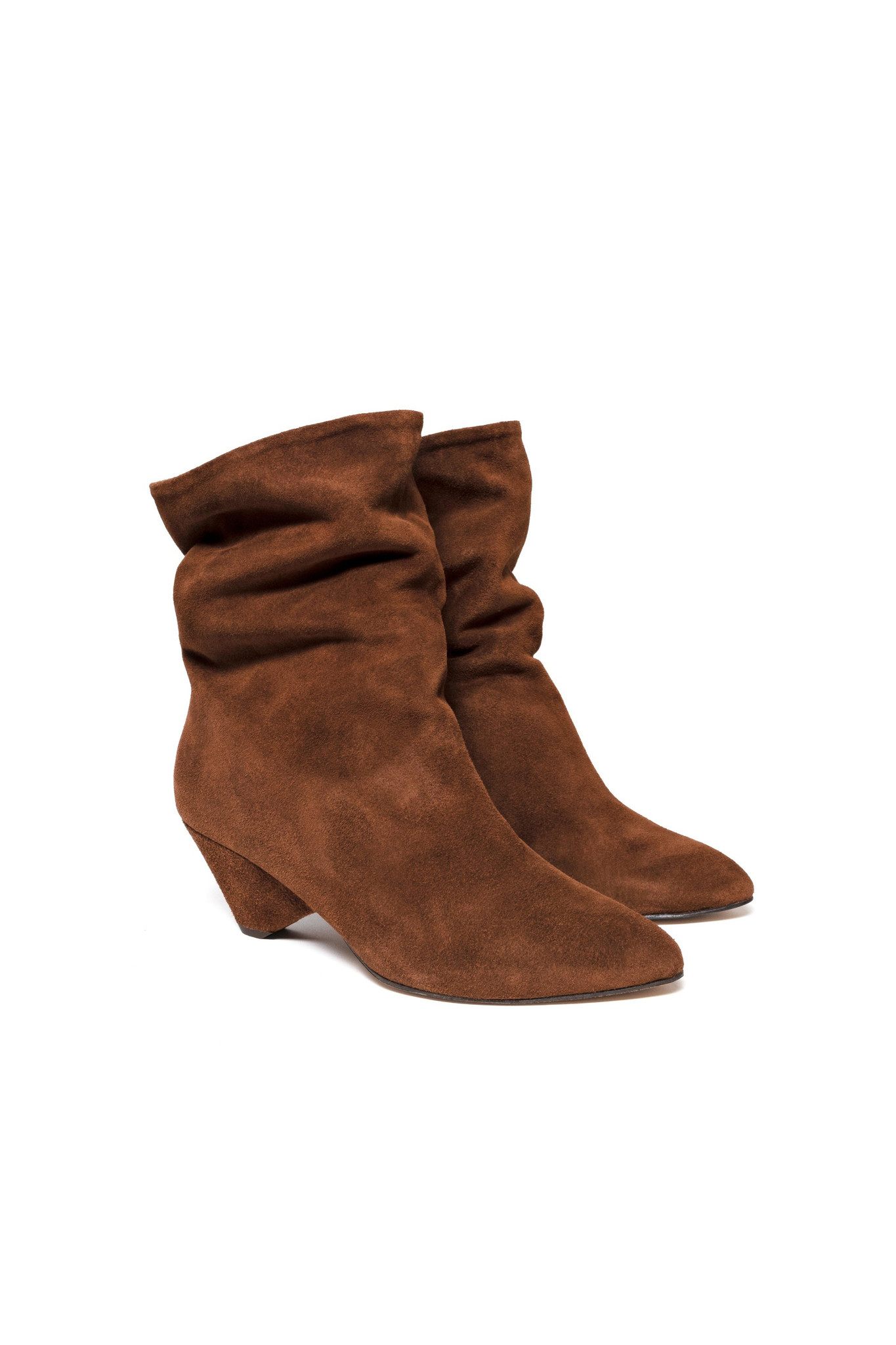 Vully 50 Triangle Calf Suede Boot - Chestnut-3
