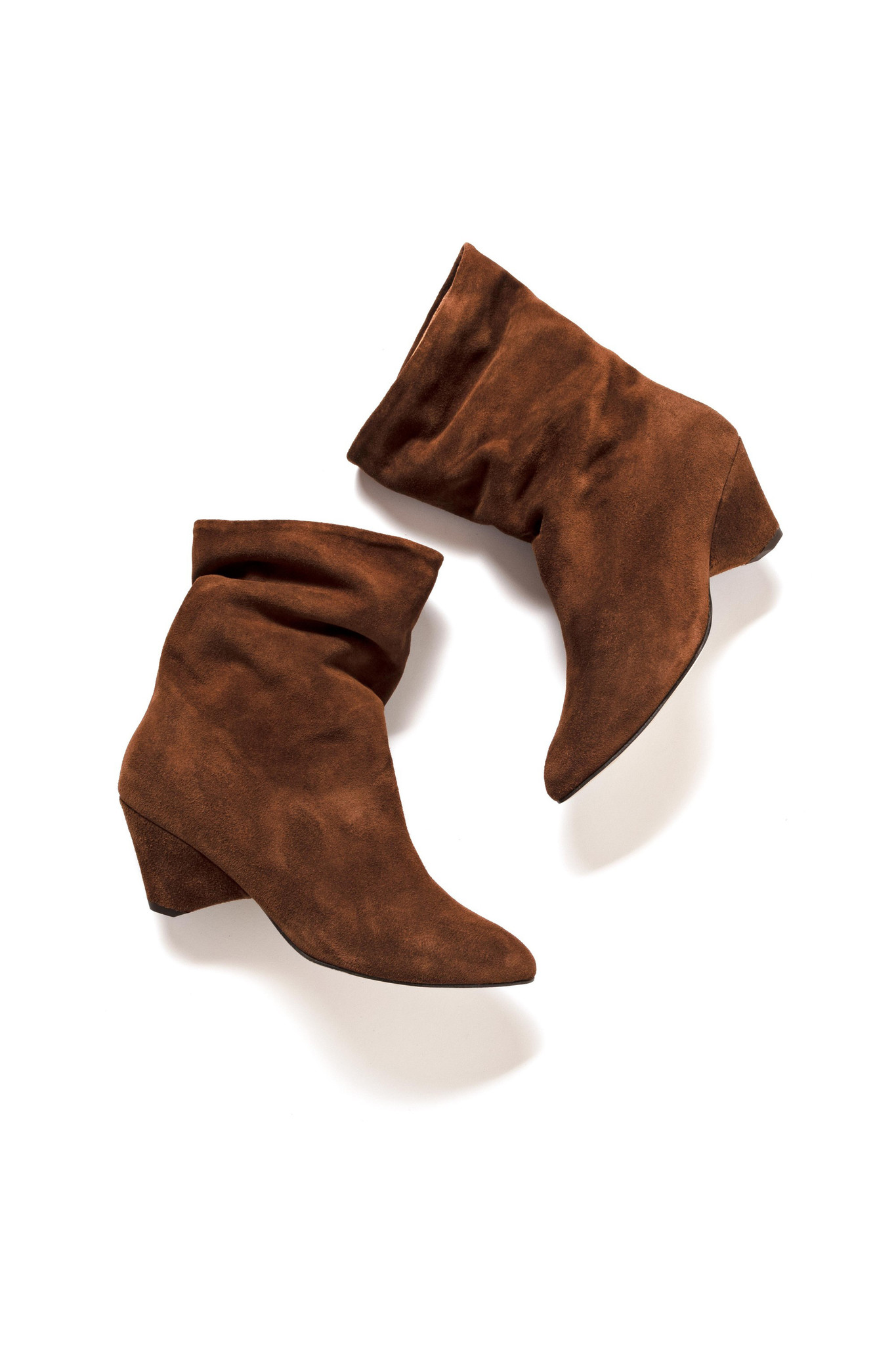 Vully 50 Triangle Calf Suede Boot - Chestnut-2