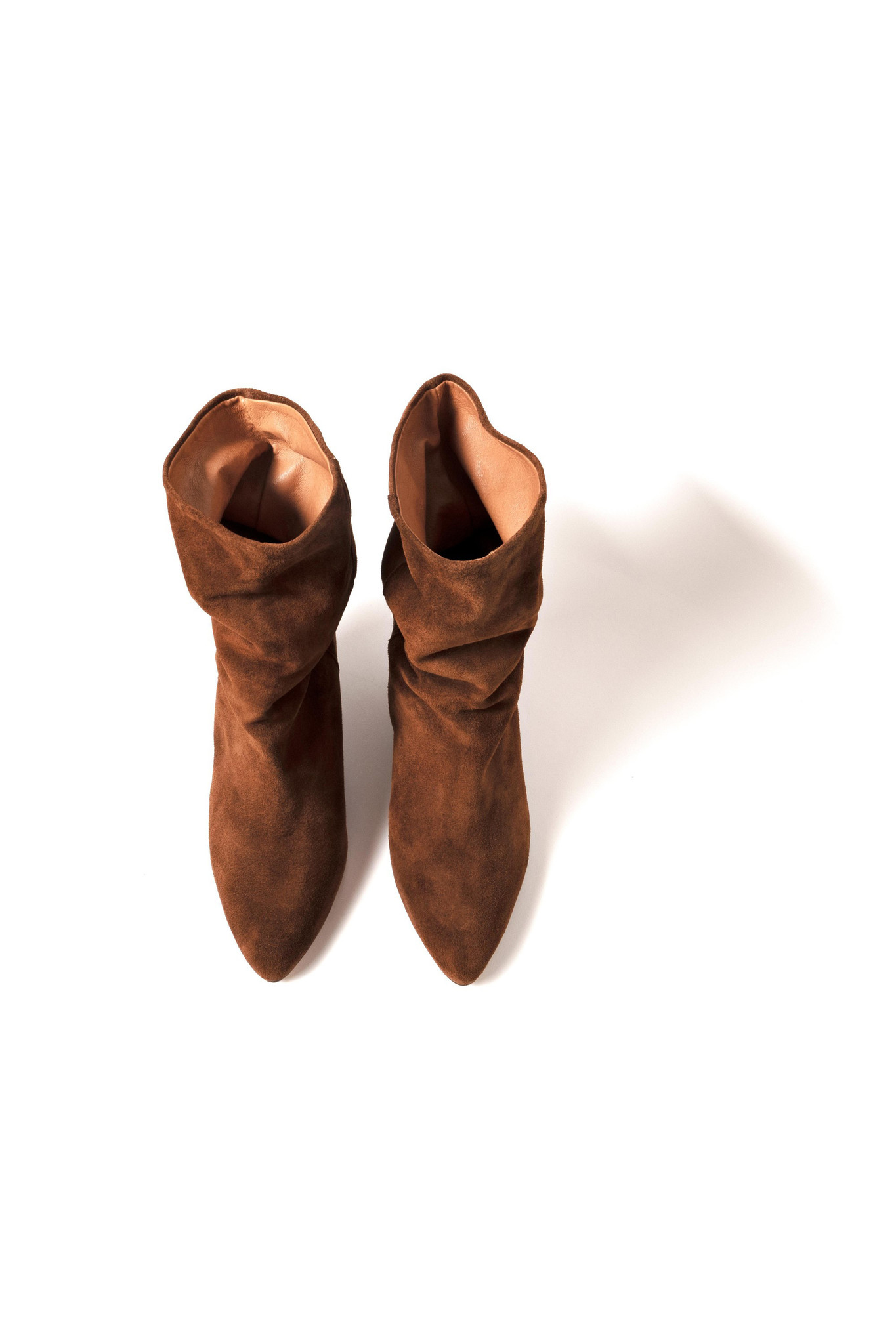 Vully 50 Triangle Calf Suede Boot - Chestnut-4