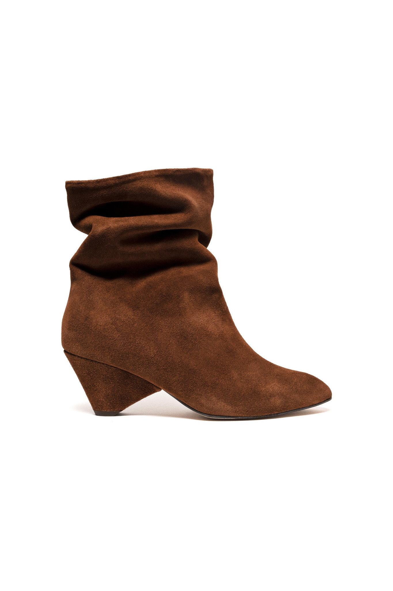 Vully 50 Triangle Calf Suede Boot - Chestnut-1