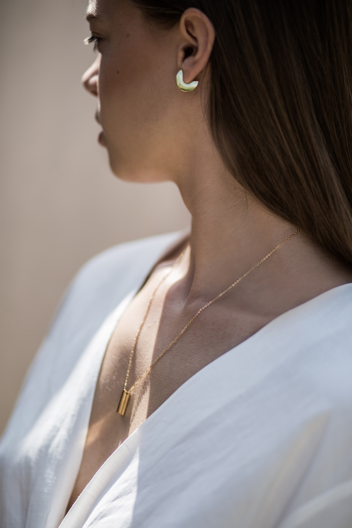 Stack Necklace - Gold-3