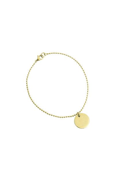 Coin Armband - Goud