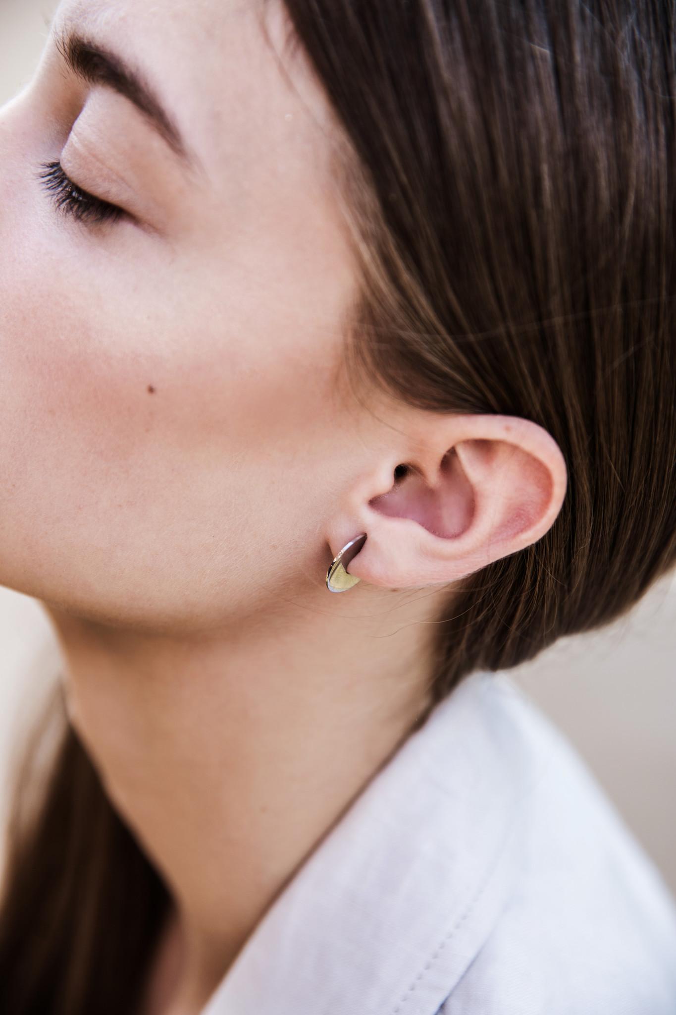 Bold Earrings - Gold-2