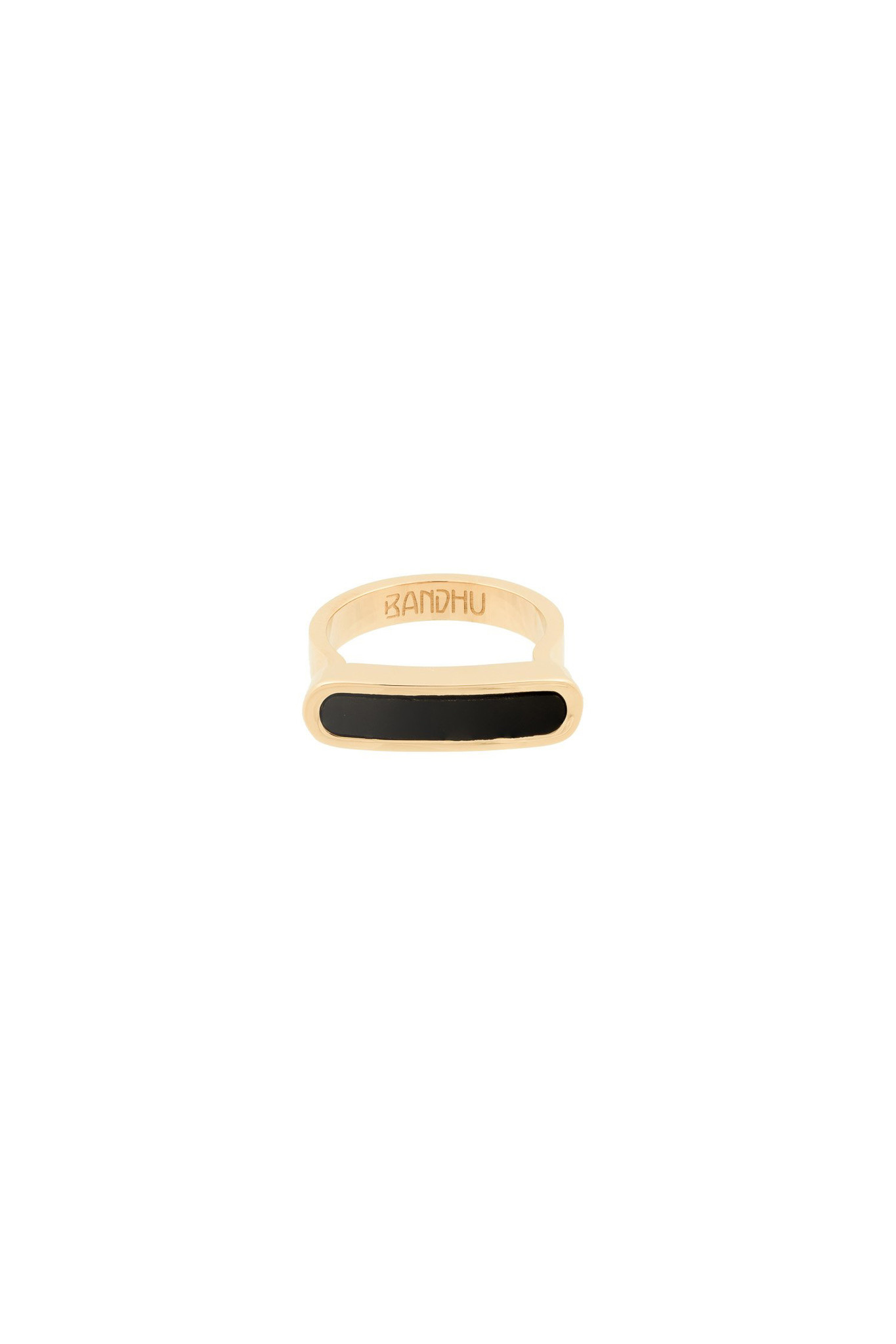 Energy Muse Ring - Gold with Black Onyx-2