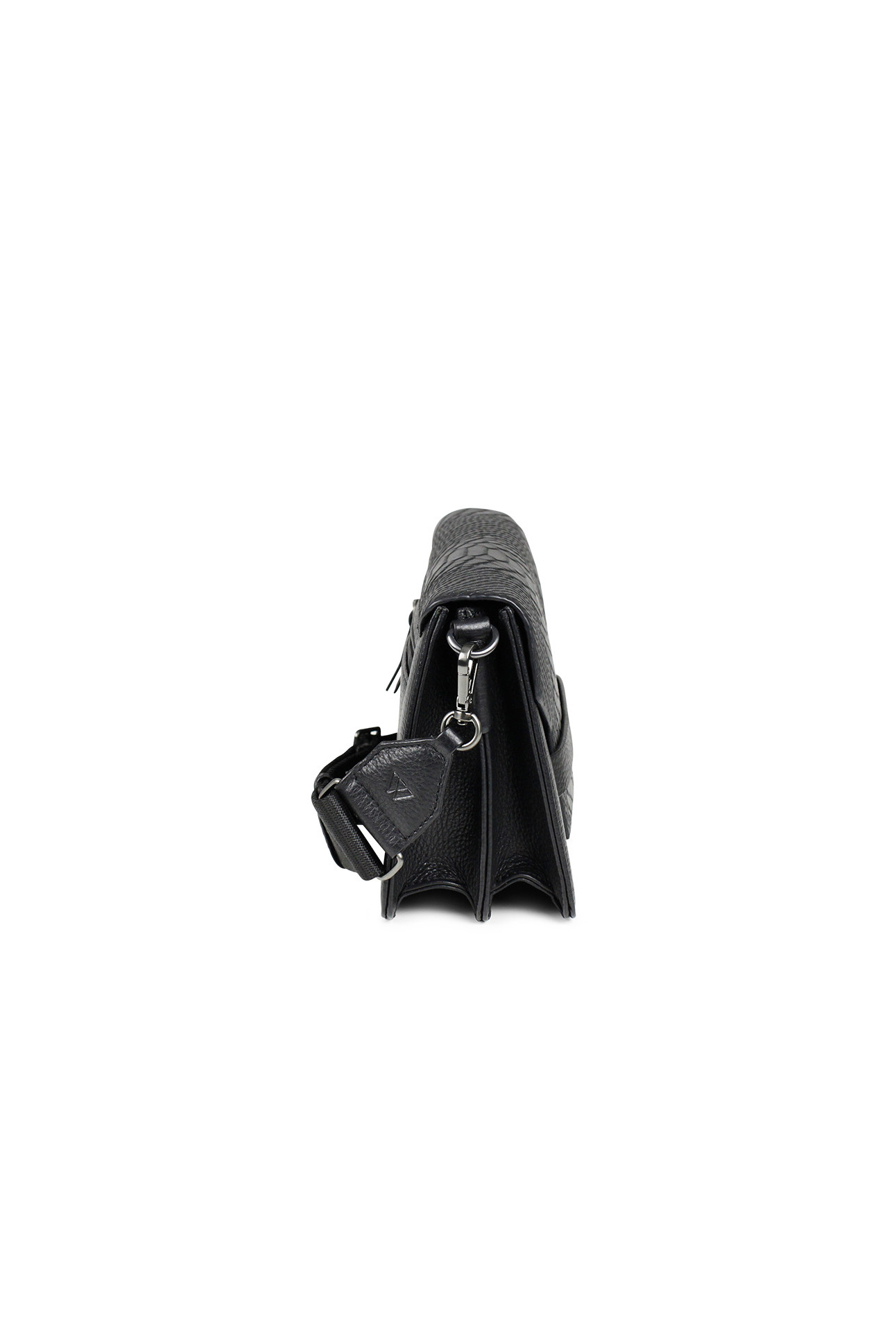 Arabella Crossbody Bag Snake - Black w/ Black-5