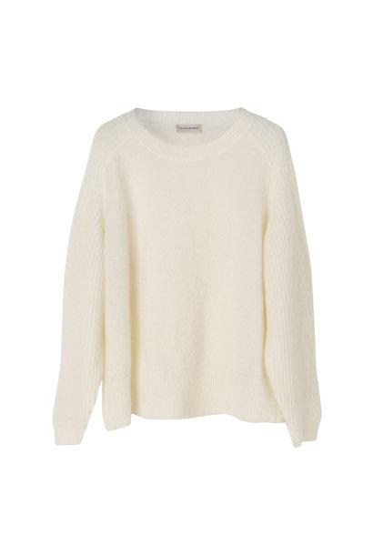 Ana Pullover - Soft White