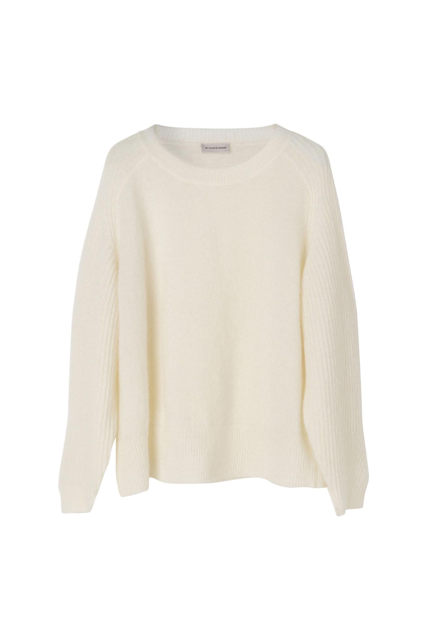Ana Pullover - Soft White-1