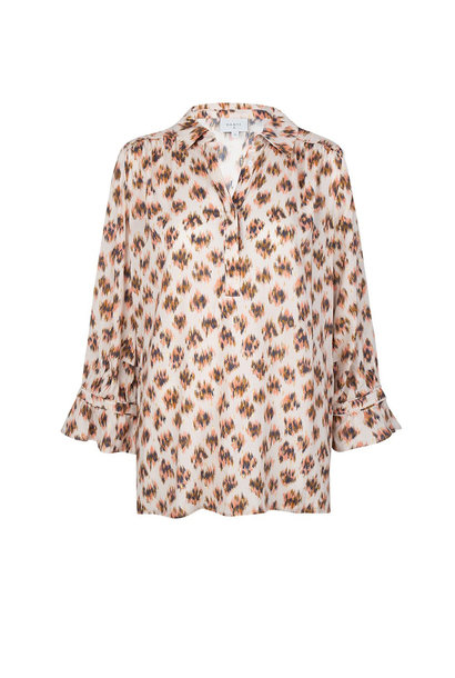 Willow Animaux Print Blouse - Multicolour
