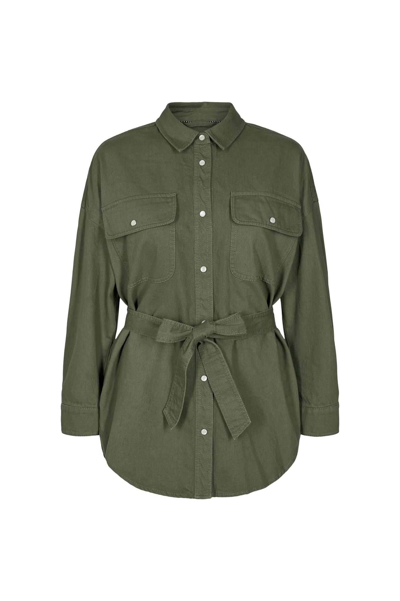 Maxine Shirt - Army-1