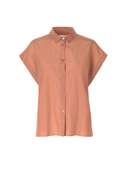 Auso Shirt - Mocha Mousse