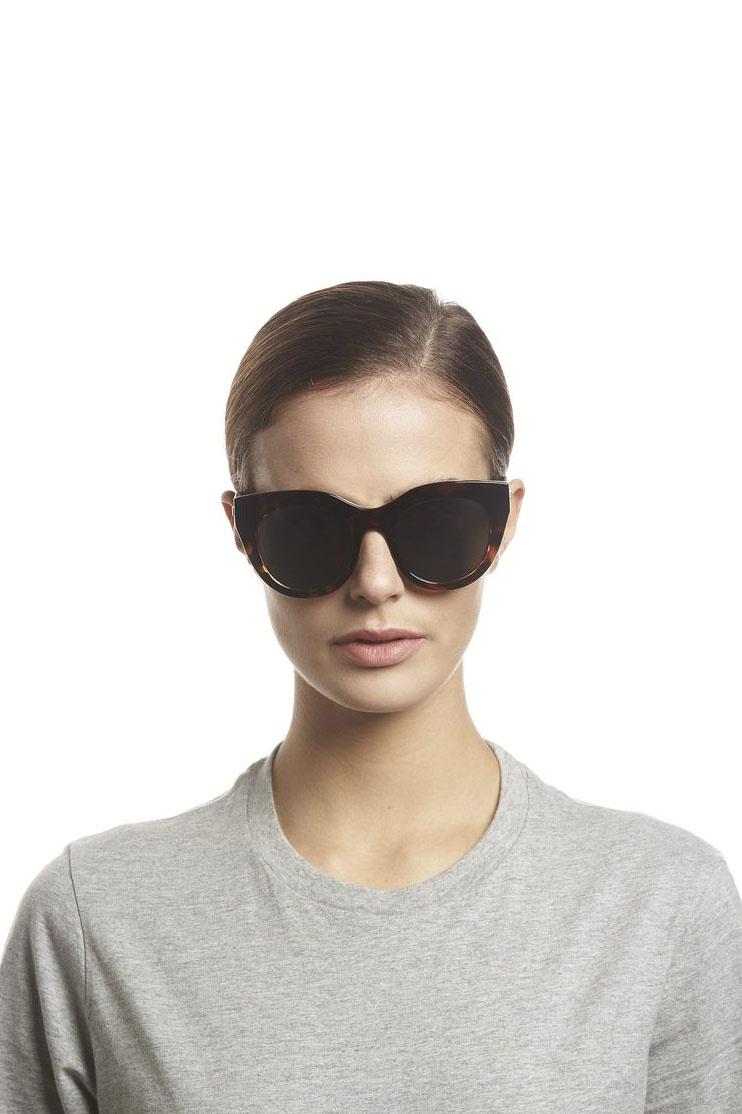 Air Heart Sunglasses - Tortoise-2