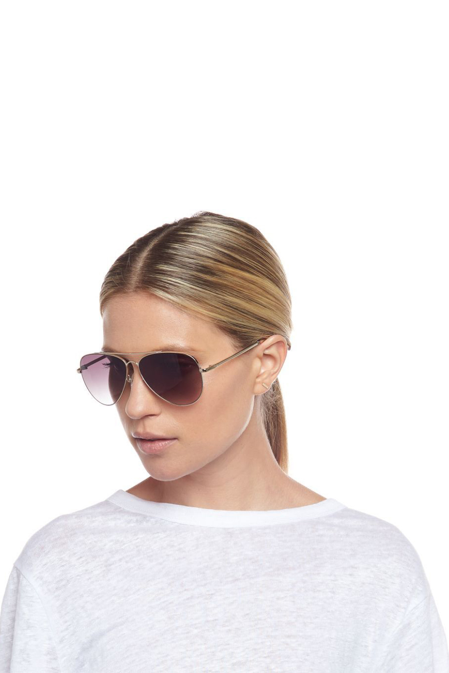 Fly High Sunglasses - Gold-4