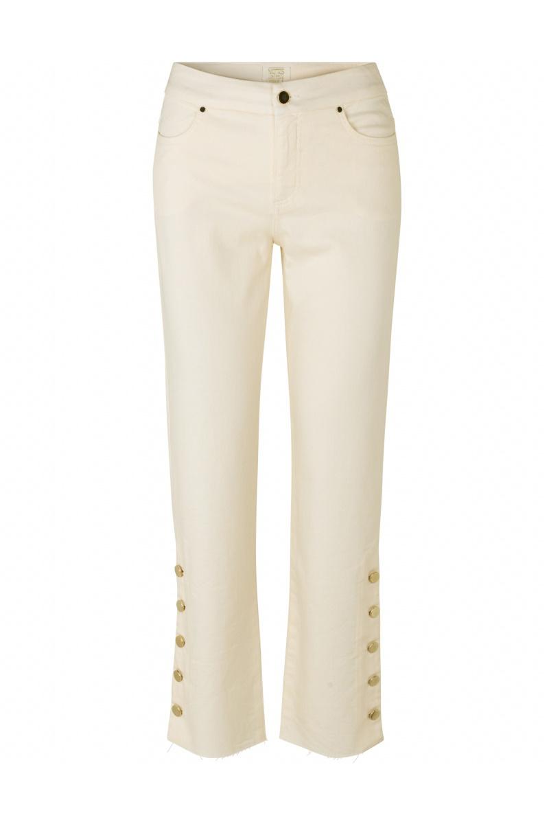 Phoenix Jeans - Cream-1