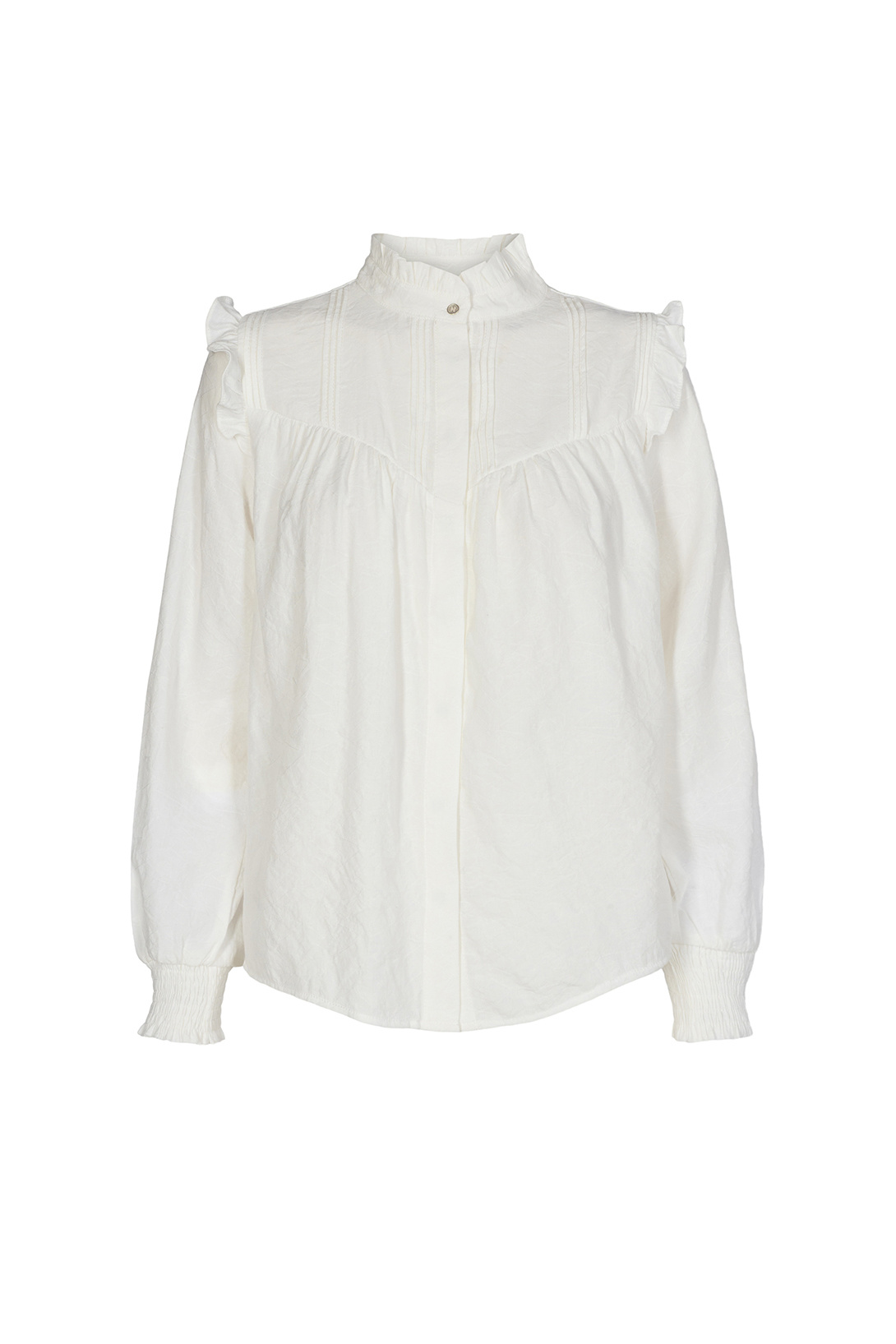 Mason Shirt - Gebroken Wit-1