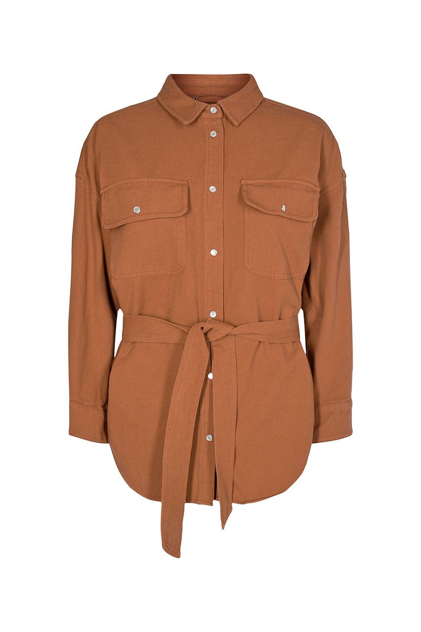 Maxine Shirt - Cantaloupe-1
