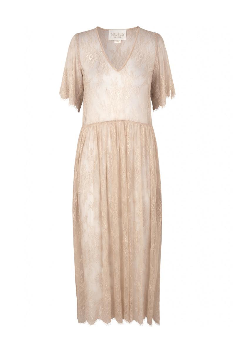 Penny Dress - Nude-1