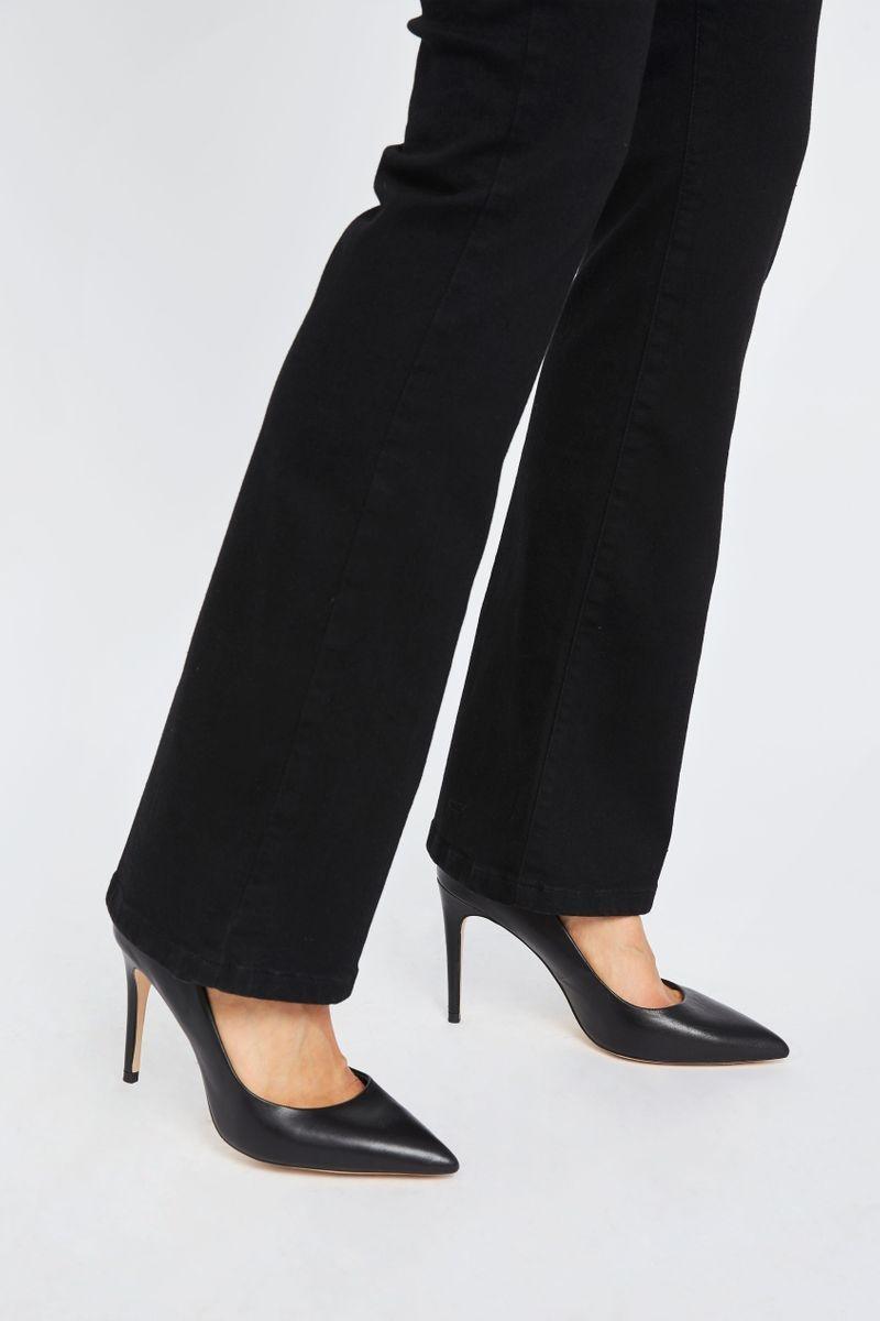 Naomi Flare Jeans - Zwart-5