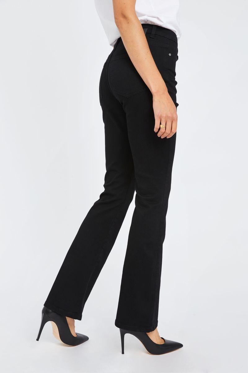 Naomi Flare Jeans - Zwart-6