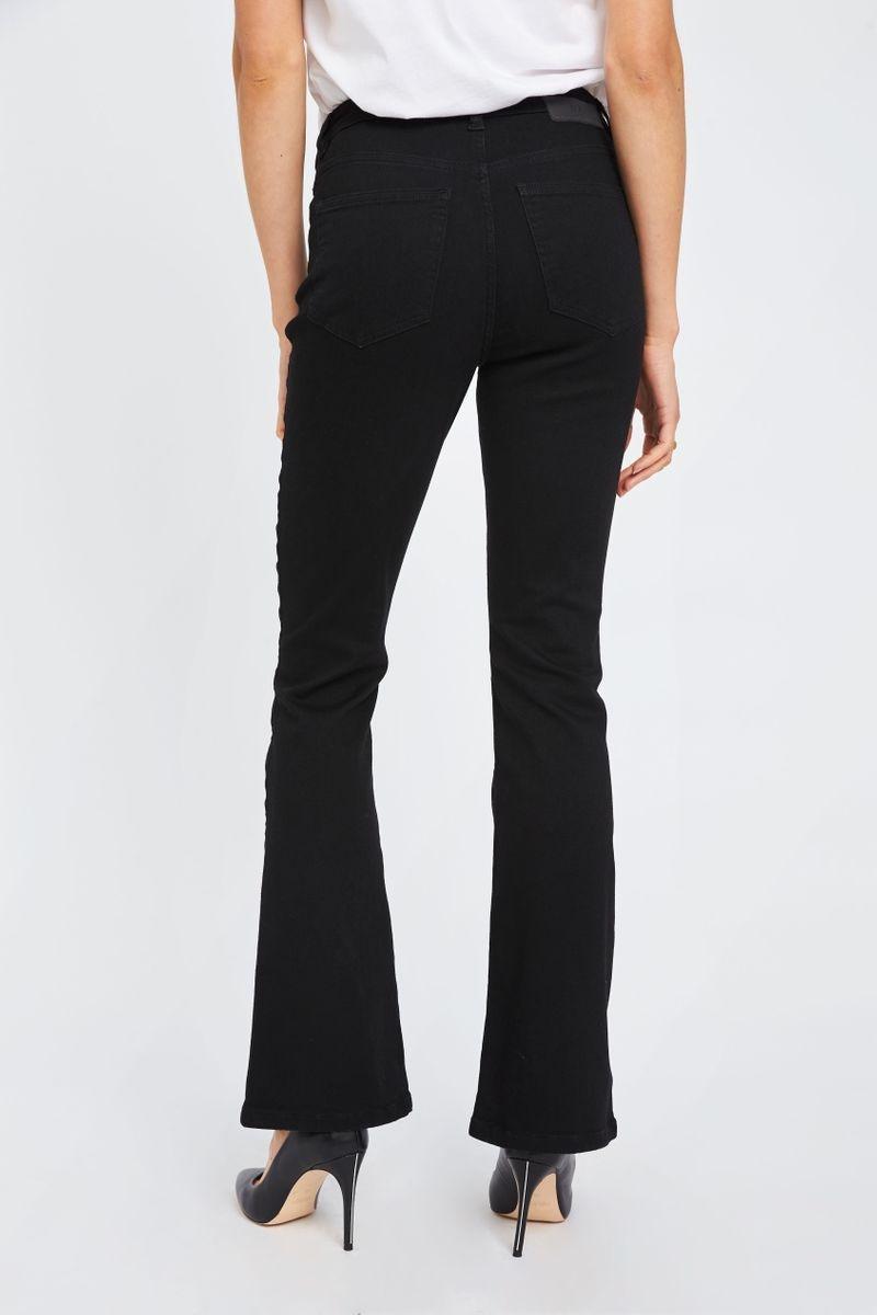 Naomi Flare Jeans - Zwart-7