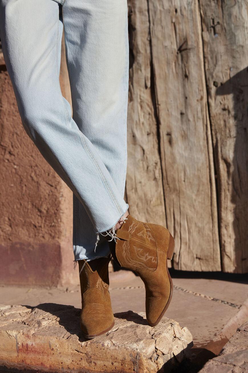 Colt Ankle Boots - Camel-2
