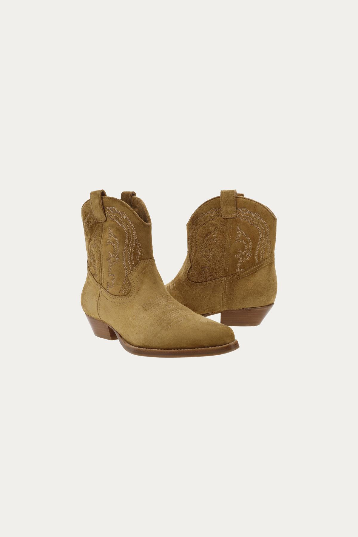Colt Ankle Boots - Camel-3