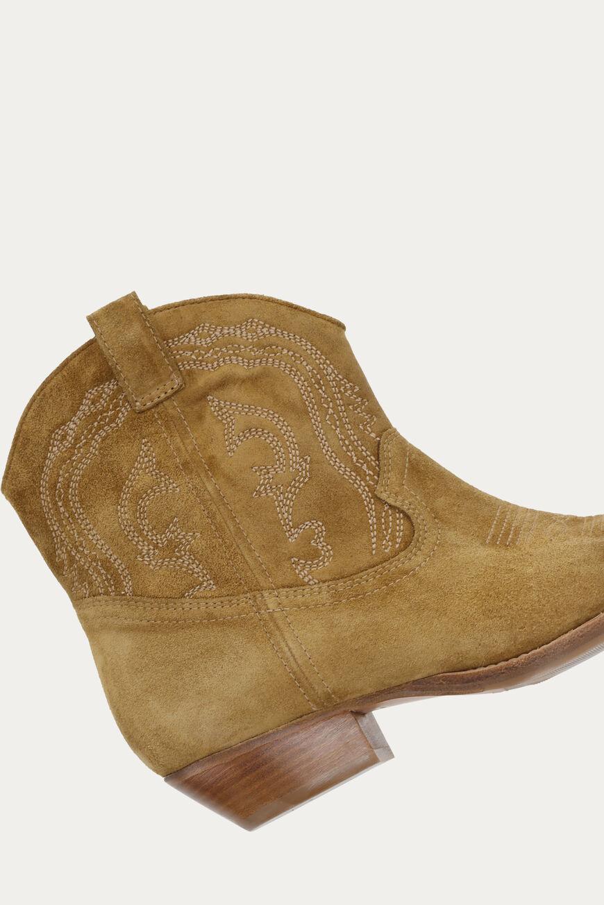 Colt Ankle Boots - Camel-4