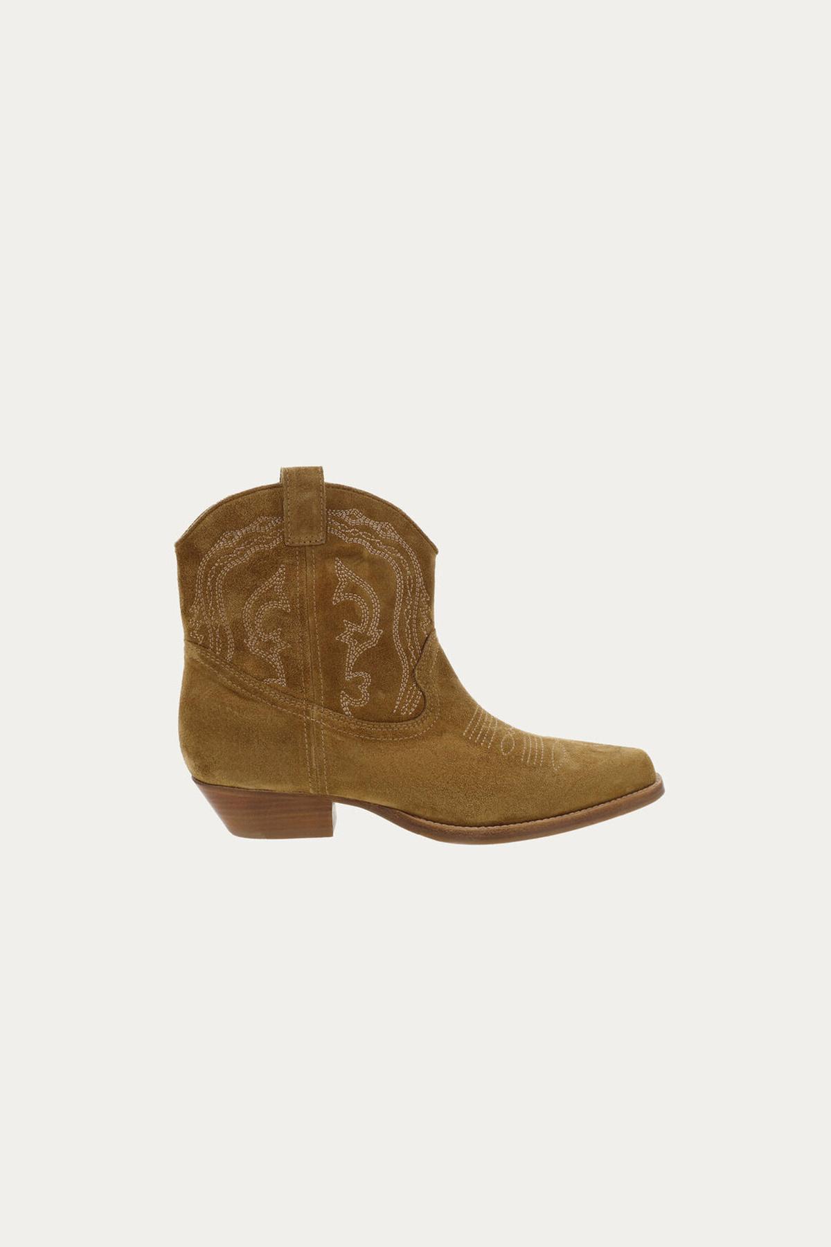 Colt Ankle Boots - Camel-1