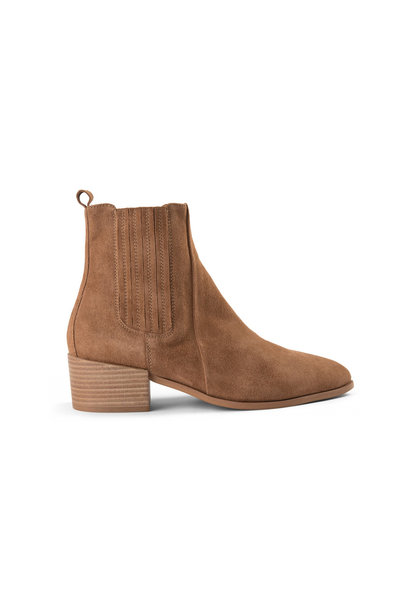 Sage Boot - Taupe Suede