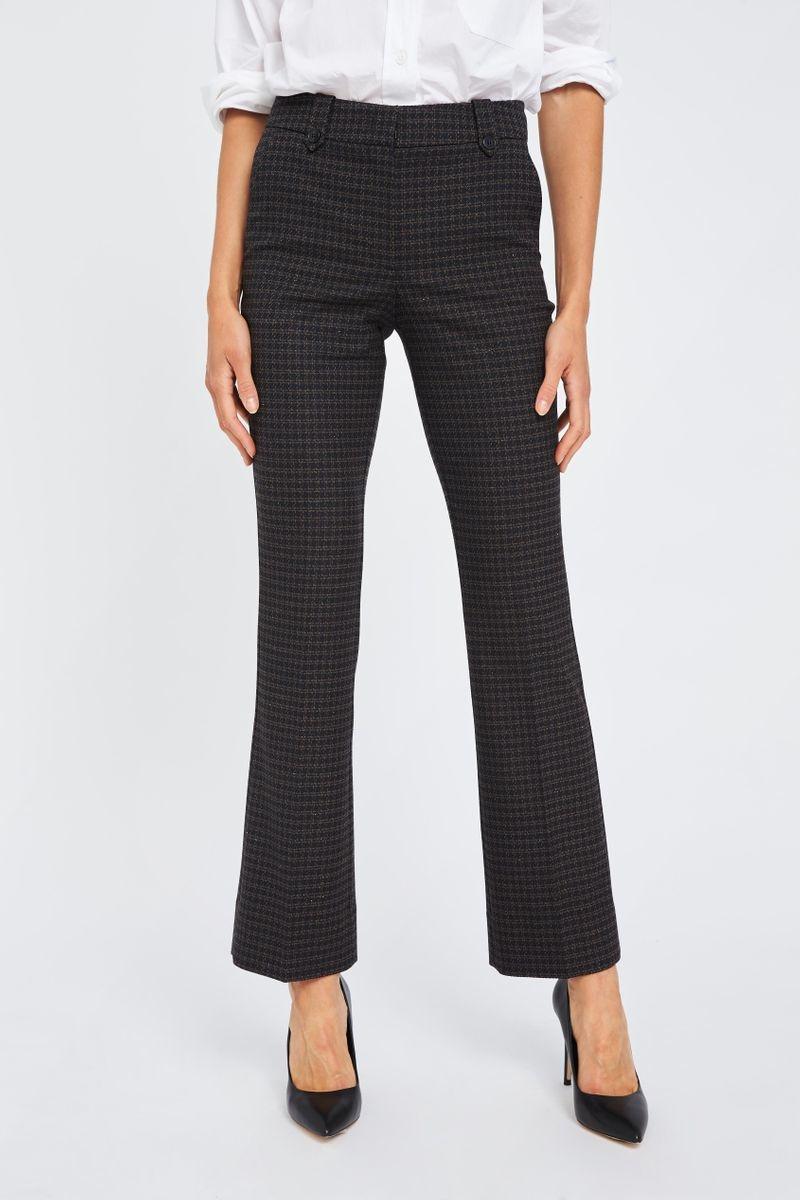 Clara Pants - Black Hounds Boucle 26-2