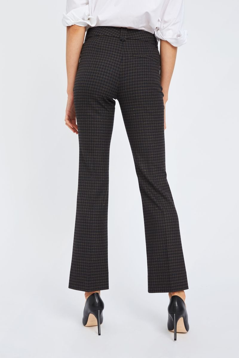Clara Pants - Black Hounds Boucle 26-5