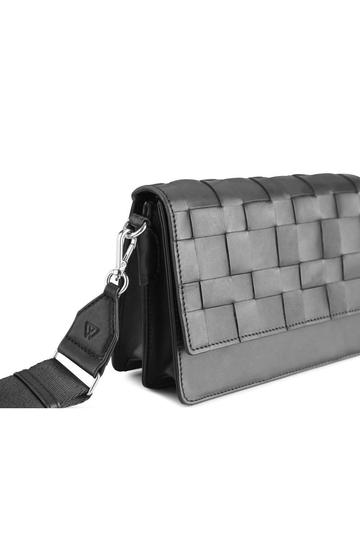 Margit Crossbody Bag Antique - Black w/ Black-5