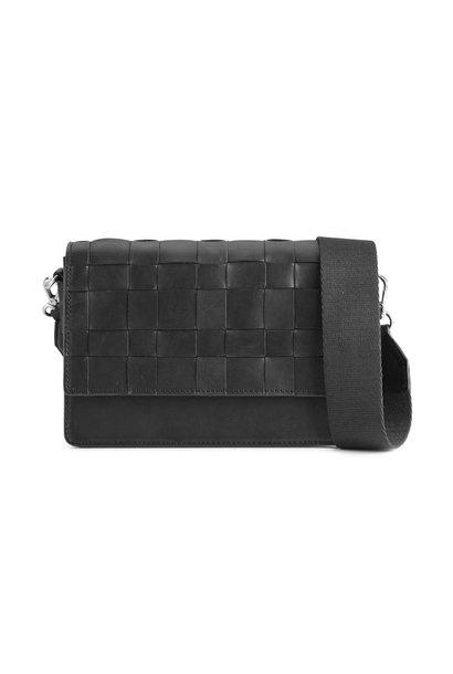 Margit Crossbody Bag Antique - Black w/ Black