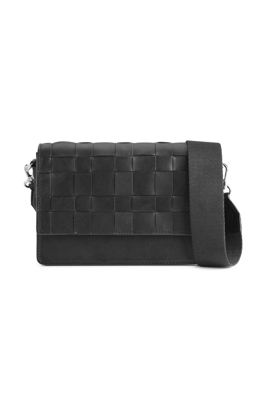 Margit Crossbody Bag Antique - Black w/ Black-1