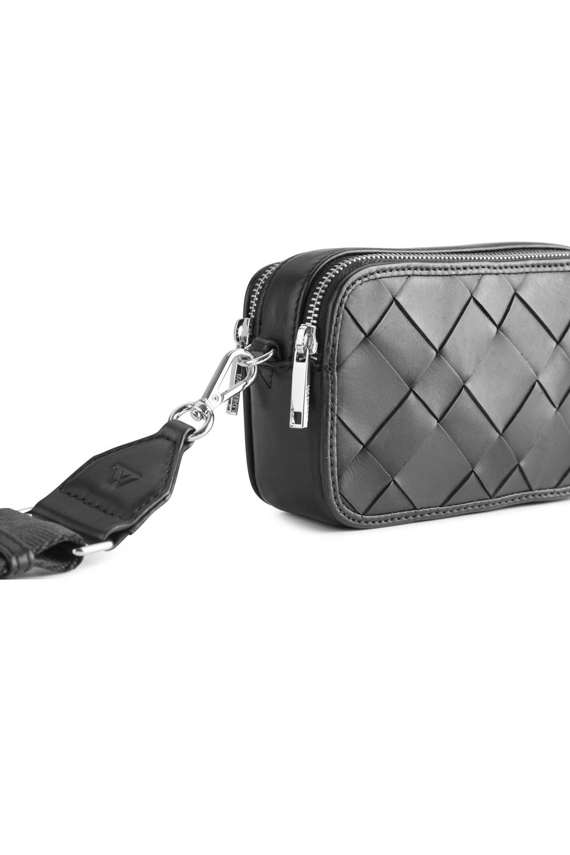 Ena Crossbody Bag Antique - Black w/ Black-5