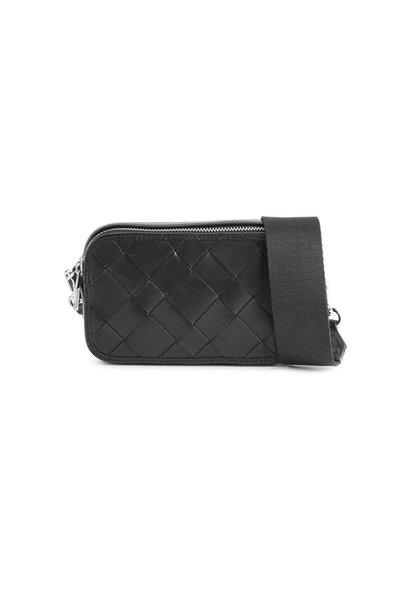 Ena Crossbody Bag Antique - Black w/ Black