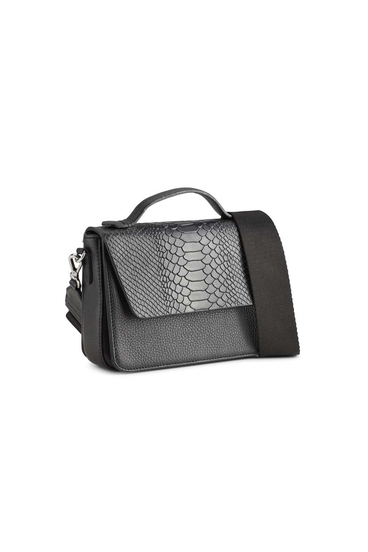 Kamaya Crossbody Bag Snake - Black w/ Black-2