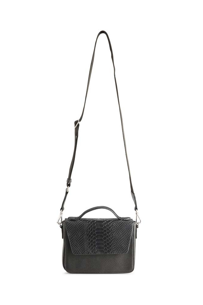 Kamaya Crossbody Bag Snake - Black w/ Black-6